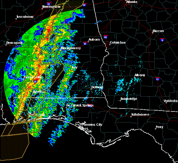 Radar Image for Severe Thunderstorms near Red Level, AL at 1/11/2020 1:57 PM CST