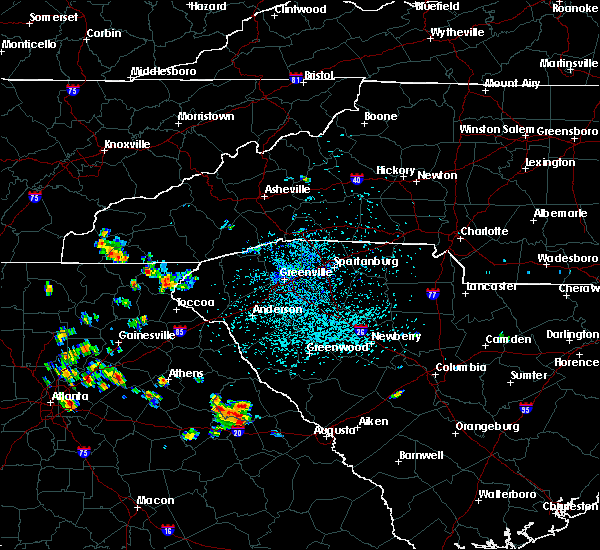 Radar Image for Severe Thunderstorms near Tallulah Falls, GA at 6/24/2015 2:52 PM EDT