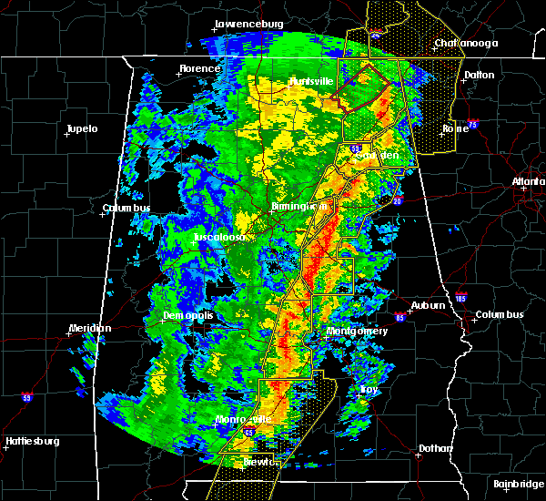 Radar Image for Severe Thunderstorms near Delta, AL at 1/11/2020 2:14 PM CST