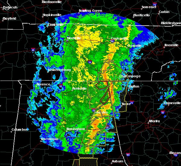 Radar Image for Severe Thunderstorms near Pine Ridge, AL at 1/11/2020 2:26 PM CST