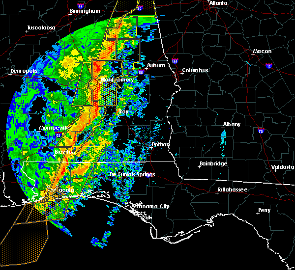 Radar Image for Severe Thunderstorms near Red Level, AL at 1/11/2020 2:33 PM CST