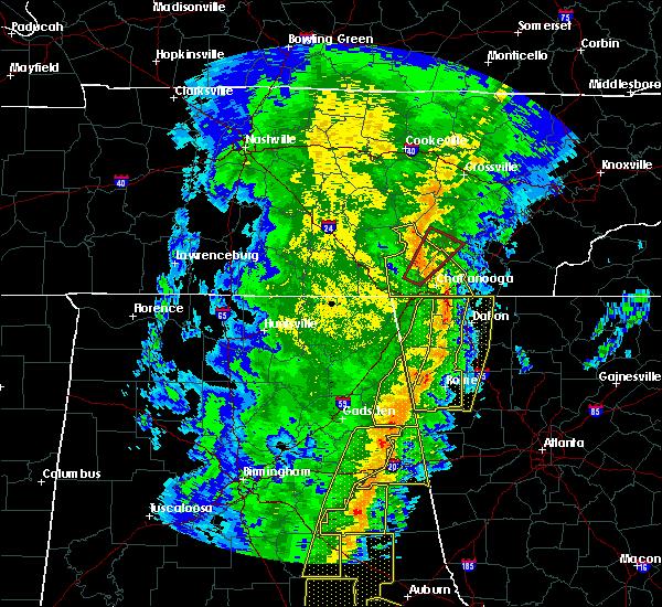 Radar Image for Severe Thunderstorms near Sale Creek, TN at 1/11/2020 3:51 PM EST