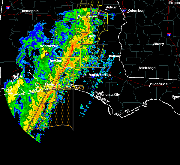 Radar Image for Severe Thunderstorms near Midway, FL at 1/11/2020 3:02 PM CST