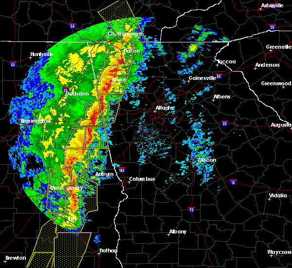 Radar Image for Severe Thunderstorms near Edwardsville, AL at 1/11/2020 3:09 PM CST