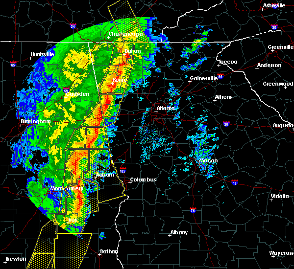 Radar Image for Severe Thunderstorms near Edwardsville, AL at 1/11/2020 3:15 PM CST