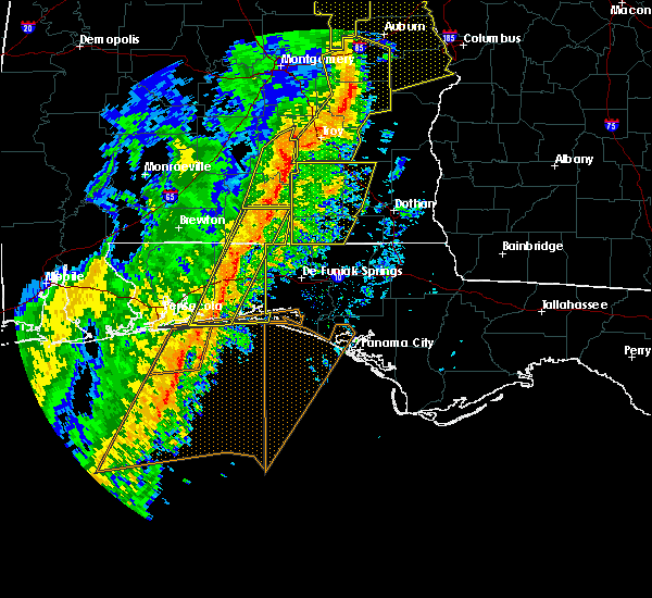 Radar Image for Severe Thunderstorms near Ocean City, FL at 1/11/2020 3:17 PM CST