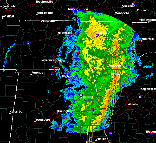 Radar Image for Severe Thunderstorms near Charleston, TN at 1/11/2020 4:28 PM EST