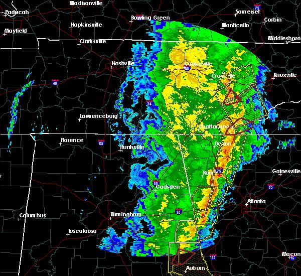 Radar Image for Severe Thunderstorms near Charleston, TN at 1/11/2020 4:35 PM EST