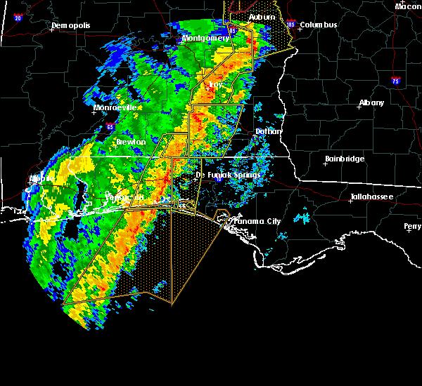 Radar Image for Severe Thunderstorms near Destin, FL at 1/11/2020 3:37 PM CST