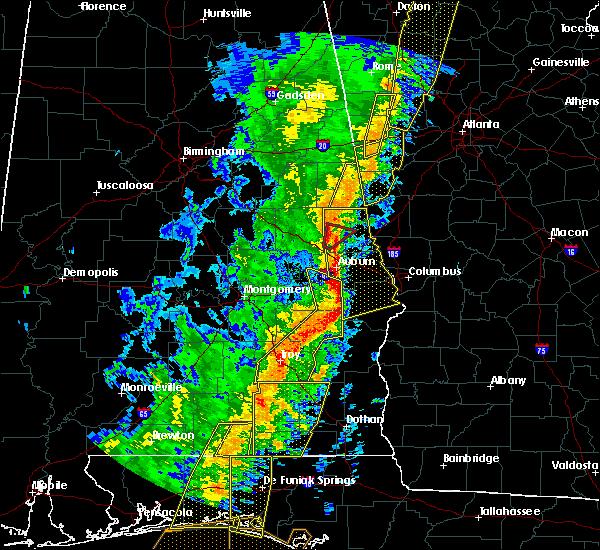 Radar Image for Severe Thunderstorms near La Fayette, AL at 1/11/2020 3:42 PM CST
