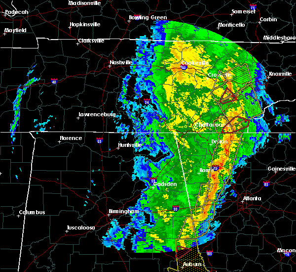 Radar Image for Severe Thunderstorms near Charleston, TN at 1/11/2020 4:42 PM EST