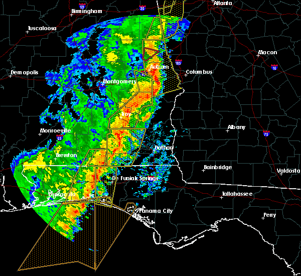 Radar Image for Severe Thunderstorms near New Brockton, AL at 1/11/2020 3:45 PM CST