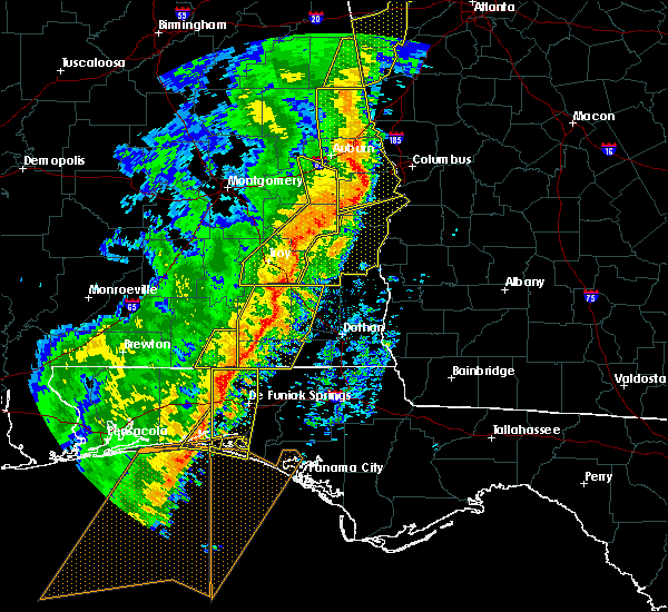 Radar Image for Severe Thunderstorms near Midway, AL at 1/11/2020 3:49 PM CST