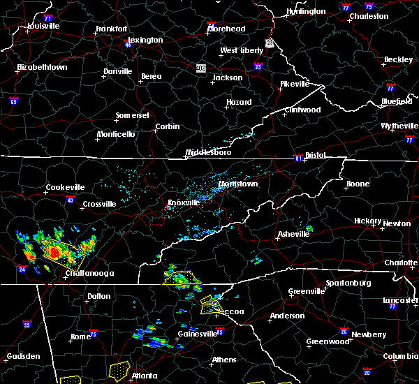 Radar Image for Severe Thunderstorms near Hayesville, NC at 6/24/2015 3:14 PM EDT