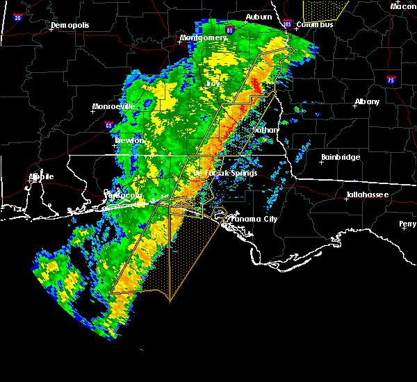 Radar Image for Severe Thunderstorms near Ponce de Leon, FL at 1/11/2020 4:35 PM CST