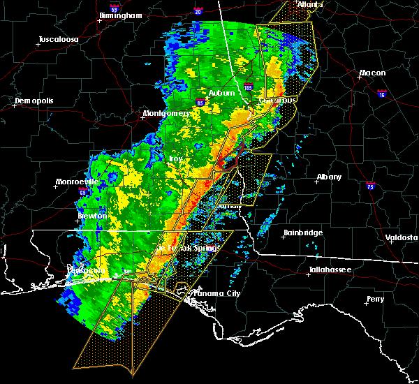 Radar Image for Severe Thunderstorms near Bluffton, GA at 1/11/2020 5:42 PM EST
