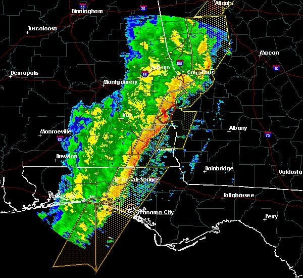 Radar Image for Severe Thunderstorms near Bluffton, GA at 1/11/2020 5:43 PM EST