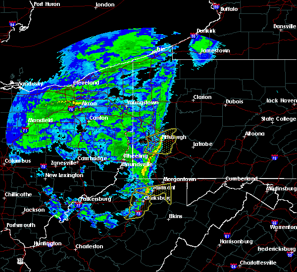 Radar Image for Severe Thunderstorms near White Hall, WV at 1/11/2020 5:47 PM EST