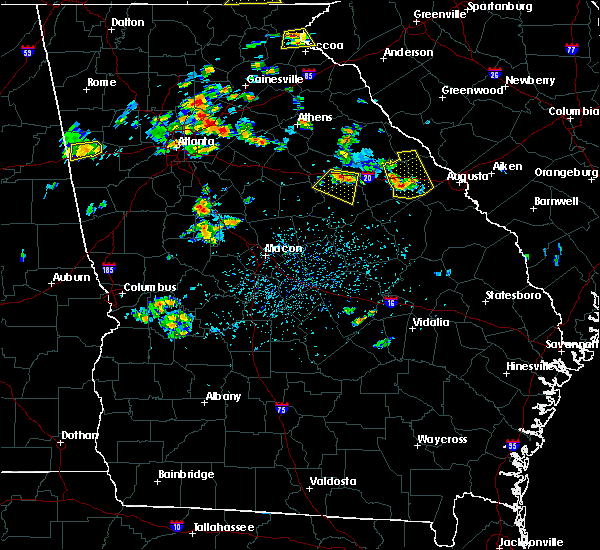 Radar Image for Severe Thunderstorms near Thomson, GA at 6/24/2015 3:20 PM EDT