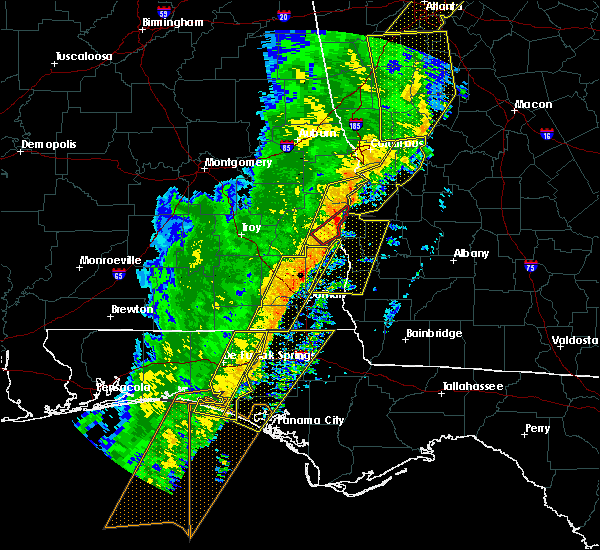 Radar Image for Severe Thunderstorms near Taylor, AL at 1/11/2020 4:48 PM CST