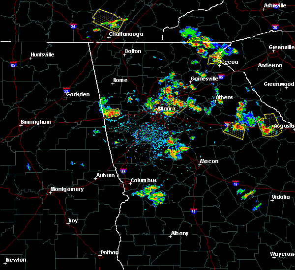 Radar Image for Severe Thunderstorms near Loganville, GA at 6/24/2015 3:23 PM EDT