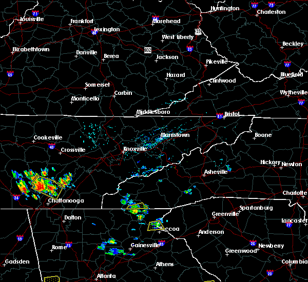 Radar Image for Severe Thunderstorms near Hayesville, NC at 6/24/2015 3:23 PM EDT