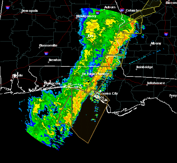Radar Image for Severe Thunderstorms near Jacob City, FL at 1/11/2020 5:31 PM CST