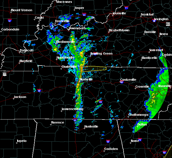 Radar Image for Severe Thunderstorms near Oak Grove, TN at 1/11/2020 5:46 PM CST