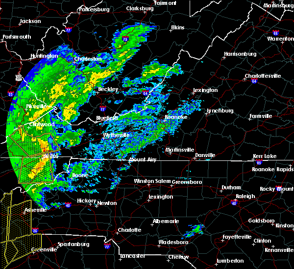 Radar Image for Severe Thunderstorms near Bristol, TN at 1/11/2020 7:19 PM EST