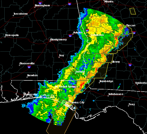 Radar Image for Severe Thunderstorms near Dawson, GA at 1/11/2020 7:27 PM EST