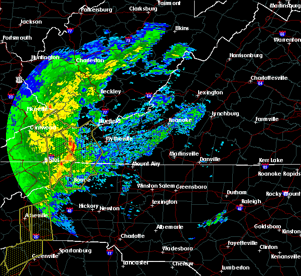 Radar Image for Severe Thunderstorms near Cove Creek, NC at 1/11/2020 7:45 PM EST