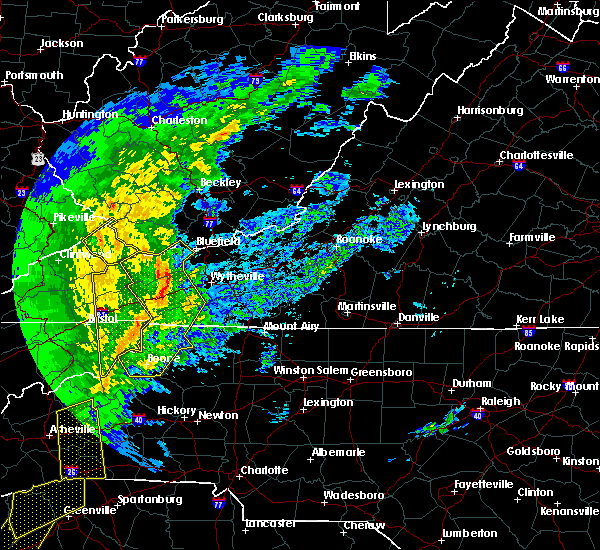 Radar Image for Severe Thunderstorms near Bristol, TN at 1/11/2020 7:54 PM EST