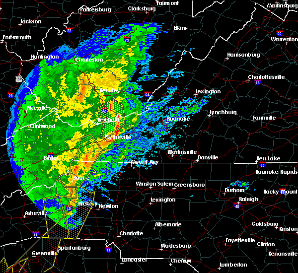 Radar Image for Severe Thunderstorms near Narrows, VA at 1/11/2020 8:31 PM EST