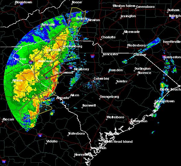 Radar Image for Severe Thunderstorms near Plum Branch, SC at 1/11/2020 8:49 PM EST