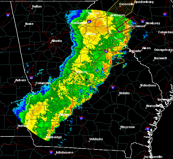 Radar Image for Severe Thunderstorms near Edge Hill, GA at 1/11/2020 8:52 PM EST