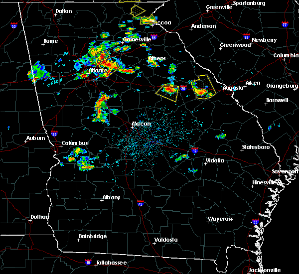 Radar Image for Severe Thunderstorms near Thomson, GA at 6/24/2015 3:42 PM EDT