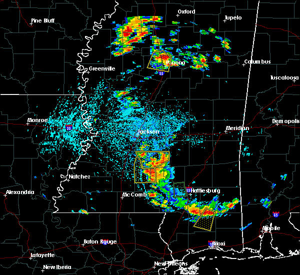 Radar Image for Severe Thunderstorms near New Hebron, MS at 6/24/2015 2:49 PM CDT