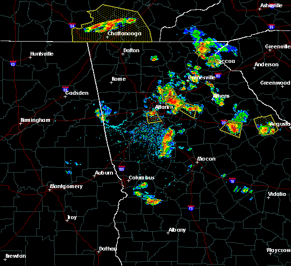 Radar Image for Severe Thunderstorms near Loganville, GA at 6/24/2015 3:51 PM EDT