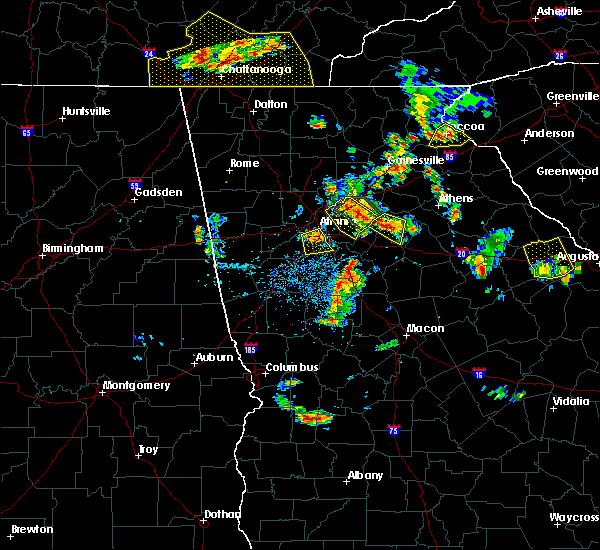 Radar Image for Severe Thunderstorms near Lilburn, GA at 6/24/2015 4:03 PM EDT