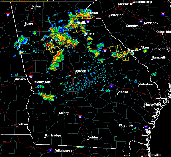 Radar Image for Severe Thunderstorms near Keysville, GA at 6/24/2015 4:13 PM EDT
