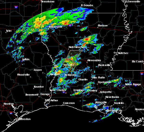 Radar Image for Severe Thunderstorms near Ball, LA at 2/5/2020 11:50 AM CST