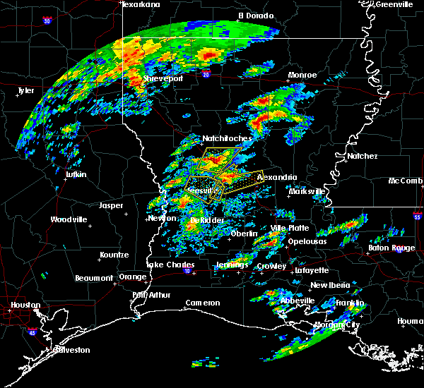 Radar Image for Severe Thunderstorms near Boyce, LA at 2/5/2020 12:05 PM CST