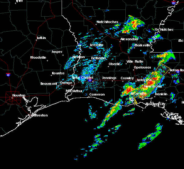 Radar Image for Severe Thunderstorms near New Iberia, LA at 2/5/2020 1:35 PM CST