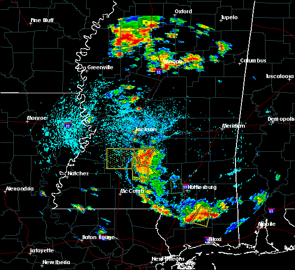 Radar Image for Severe Thunderstorms near Hazlehurst, MS at 6/24/2015 3:19 PM CDT