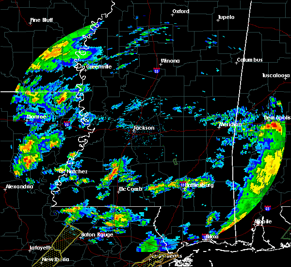 Radar Image for Severe Thunderstorms near Eudora, AR at 2/5/2020 1:38 PM CST