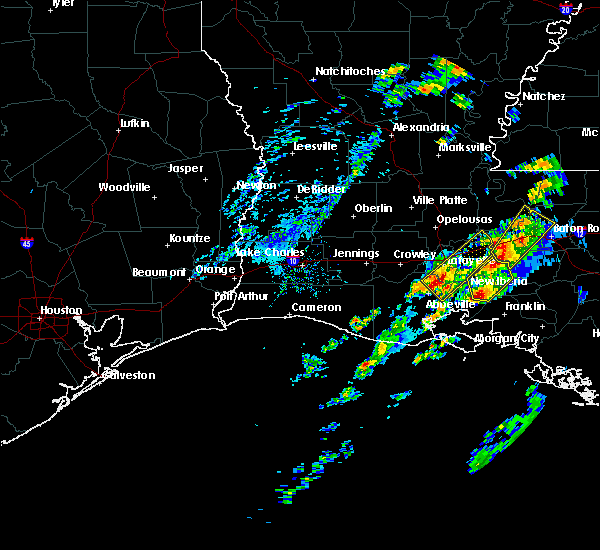 Radar Image for Severe Thunderstorms near New Iberia, LA at 2/5/2020 1:51 PM CST