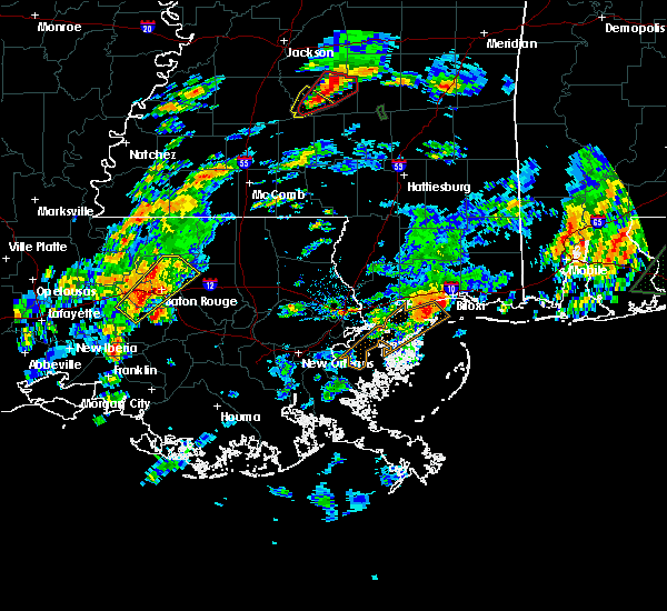 Radar Image for Severe Thunderstorms near Baton Rouge, LA at 2/5/2020 2:43 PM CST