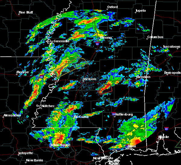 Radar Image for Severe Thunderstorms near New Hebron, MS at 2/5/2020 3:08 PM CST