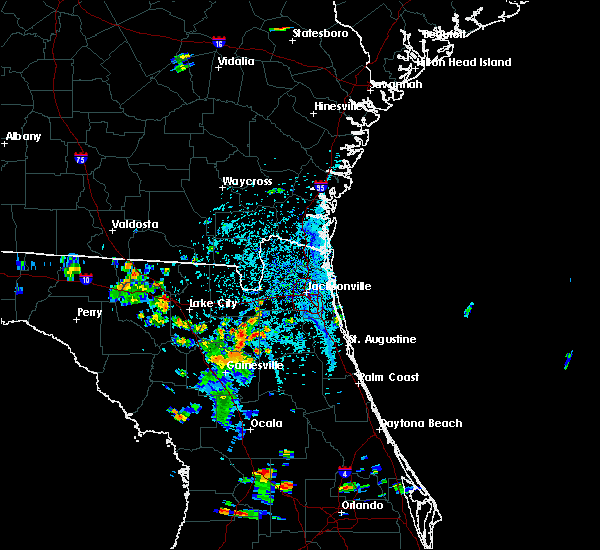 Radar Image for Severe Thunderstorms near Asbury Lake, FL at 6/24/2015 4:35 PM EDT