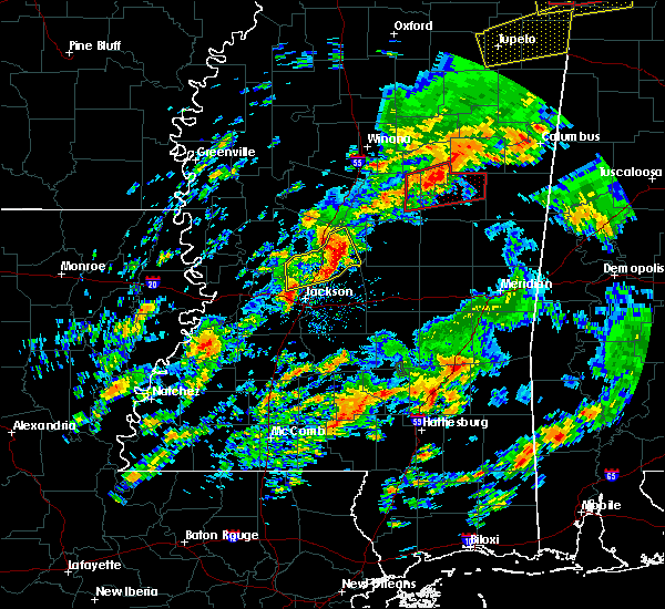 Radar Image for Severe Thunderstorms near Ridgeland, MS at 2/5/2020 5:17 PM CST